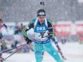 Биатлон: Пидручный стал шестым в гонке преследования