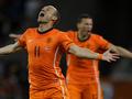 Фотогалерея: Оранжевое настроение. Голландия выбивает Уругвай