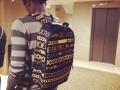 Нападающий Динамо опубликовал фотографию любимого рюкзака