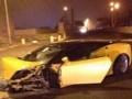 Молодой нападающий Лацио попал в аварию на своей Lamborghini