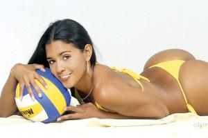 Красотка пятницы: Сногшибательная бразильянка, которая заставит тебя полюбить волейбол