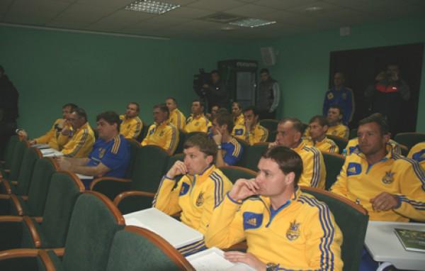Шевченко обучается тренерскому мастерству на курсах