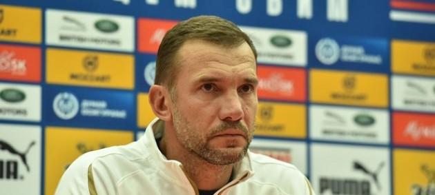 Шевченко объявил заявку на матчи против Франции, Германии и Испании