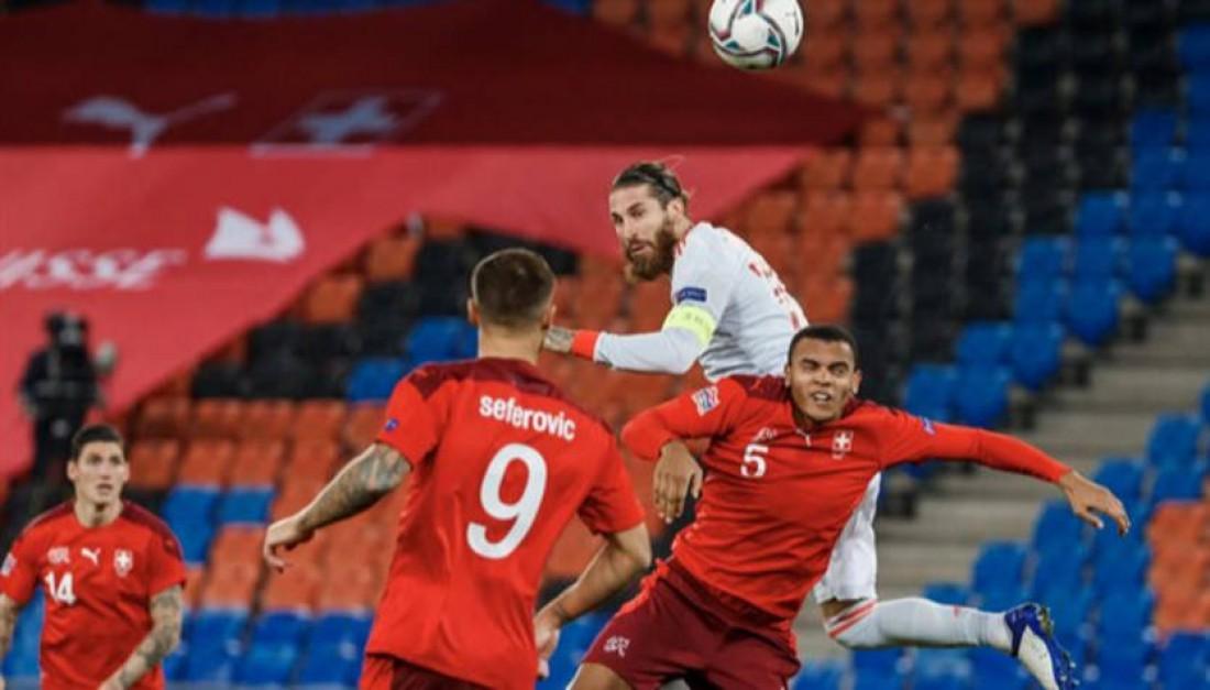 Швейцария - Испания 1:1