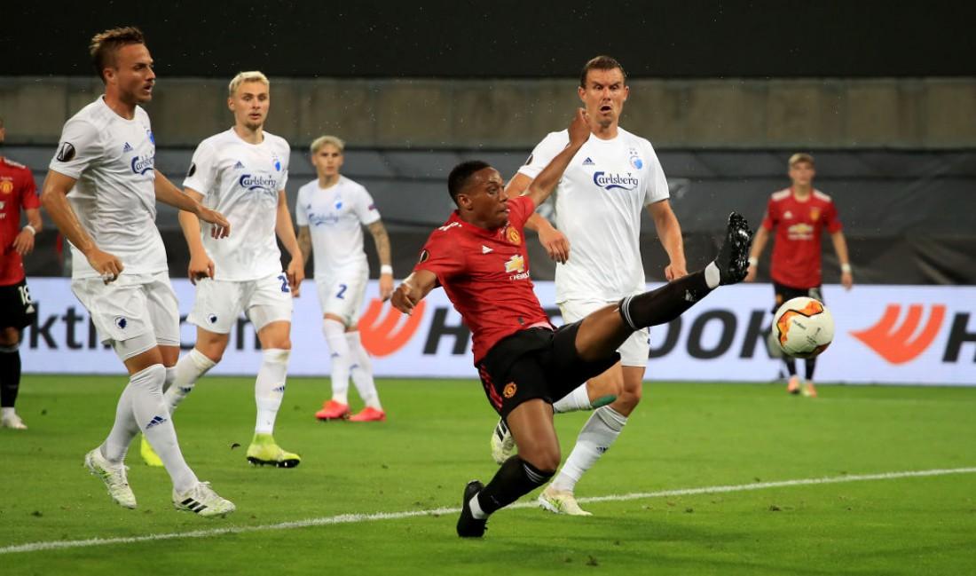 Манчестер Юнайтед - Копенгаген: видео гола