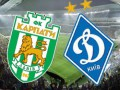 УПЛ. Карпаты - Динамо 0:1 текстовая трансляция