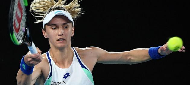 Цуренко выиграла у первой ракетки мира сет, но вылетела с Australian Open