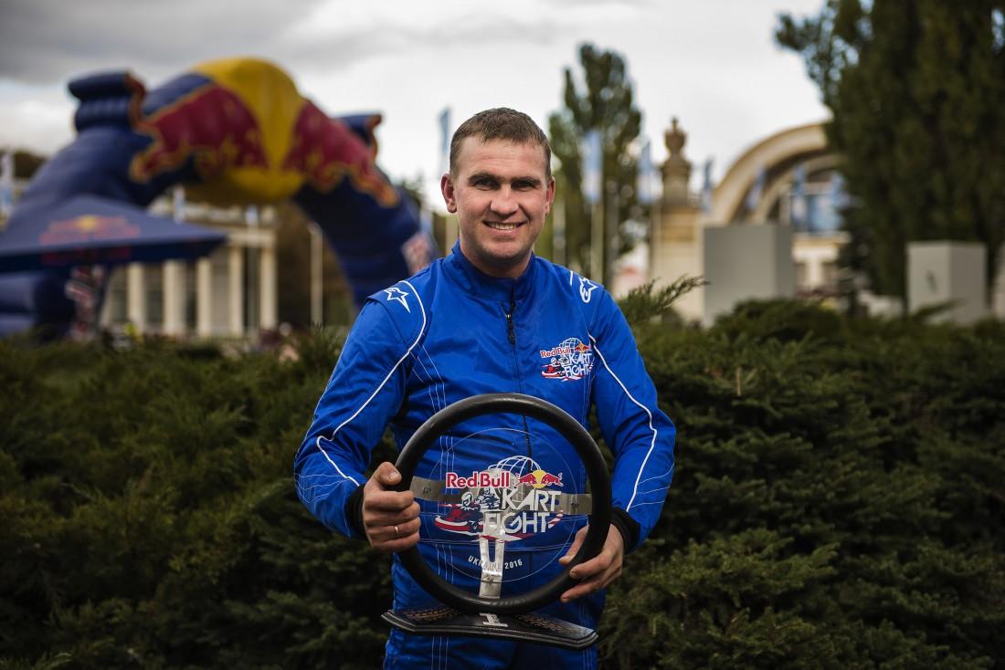 Алексей Котляр – победитель Red Bull Kart Fight