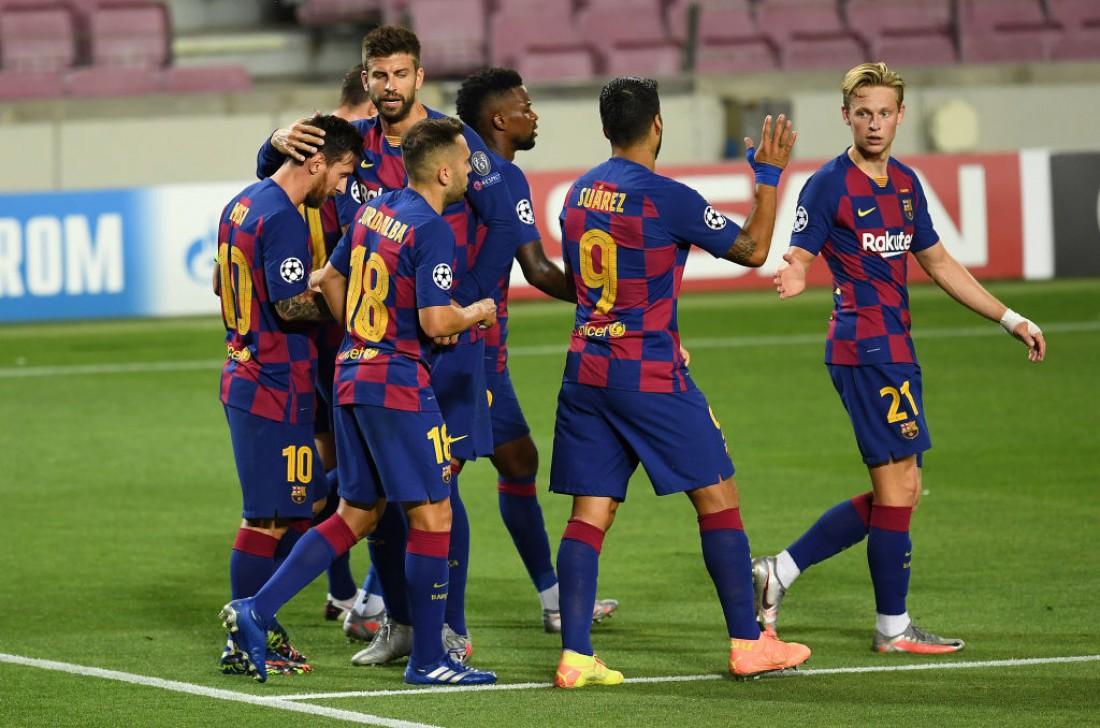 Барселона вышла в 1/4 финала Лиги чемпионов
