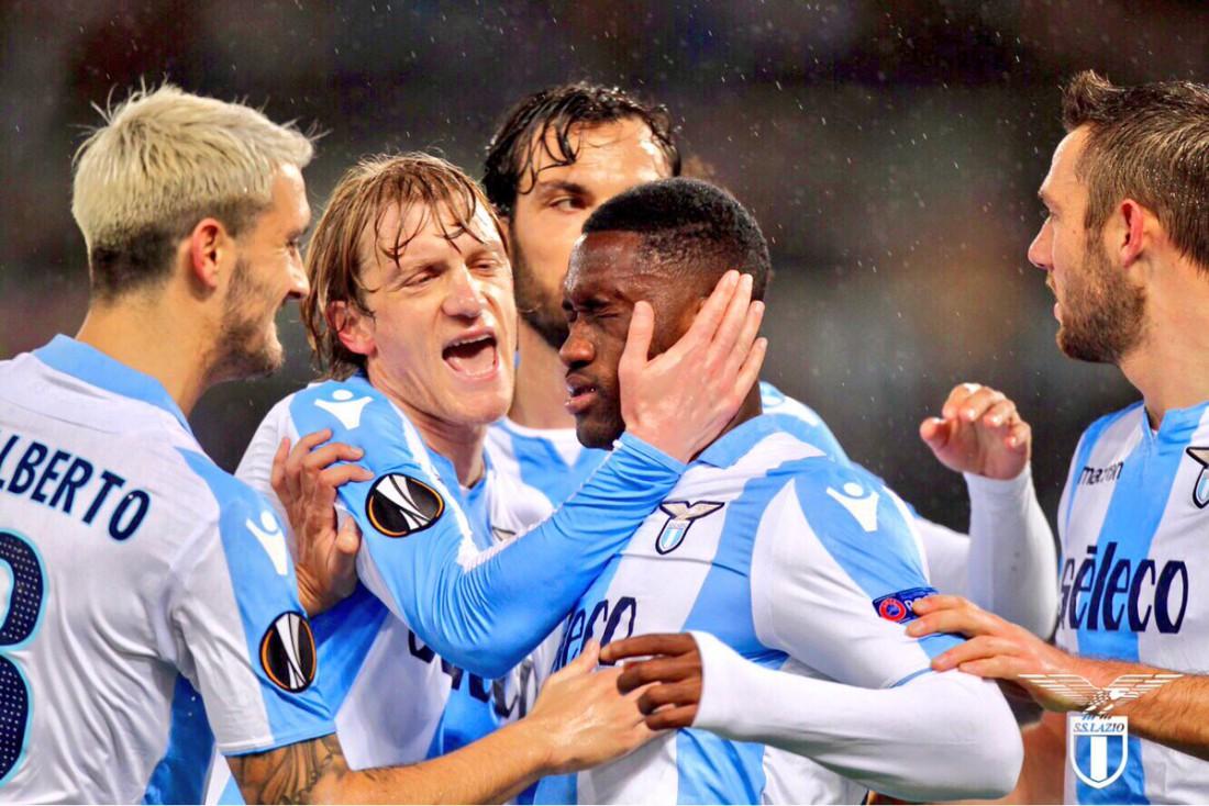 Лацио разгромил Стяуа в ответном матче 1/16 финала Лиги Европы