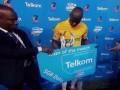 Футболист получил 5 гигабайт интернета как приз лучшему игроку