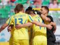 Сборная Украины по пляжному футболу обыграла Турцию в Евролиге-2018