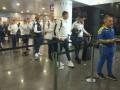 Сборная Украины отправилась в Геную на матч с Италией