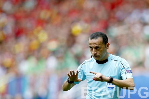 Джюнейт Чакыр рассудит матч Италия – Испания