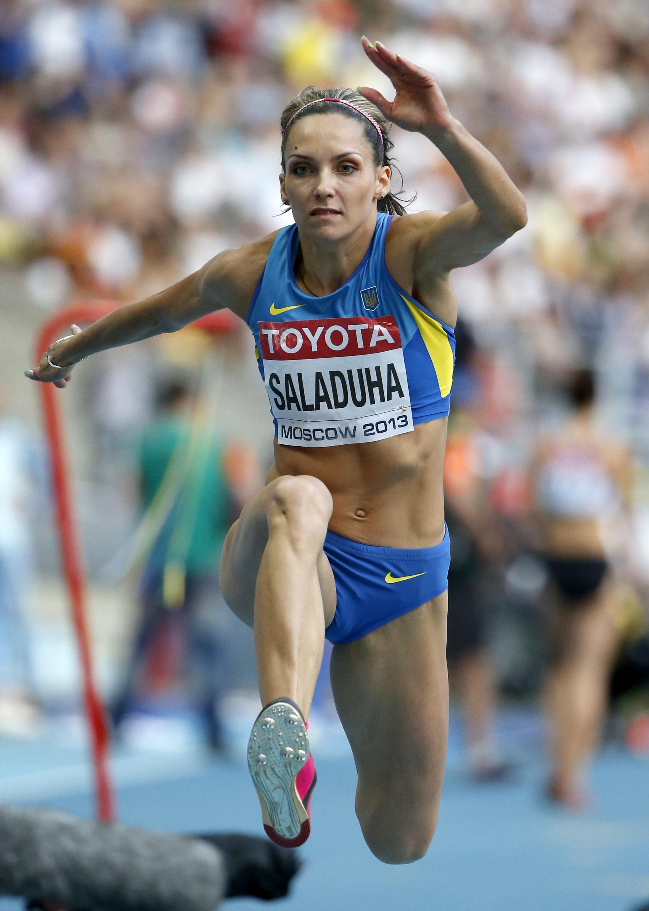 Ольга Саладуха выиграла чемпионат Украины с лучшим результатом сезона в мире!