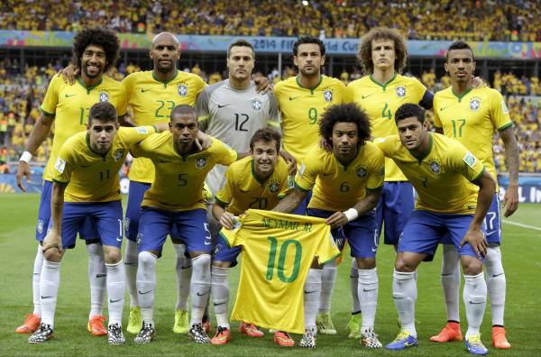 Команда бразилии неймар